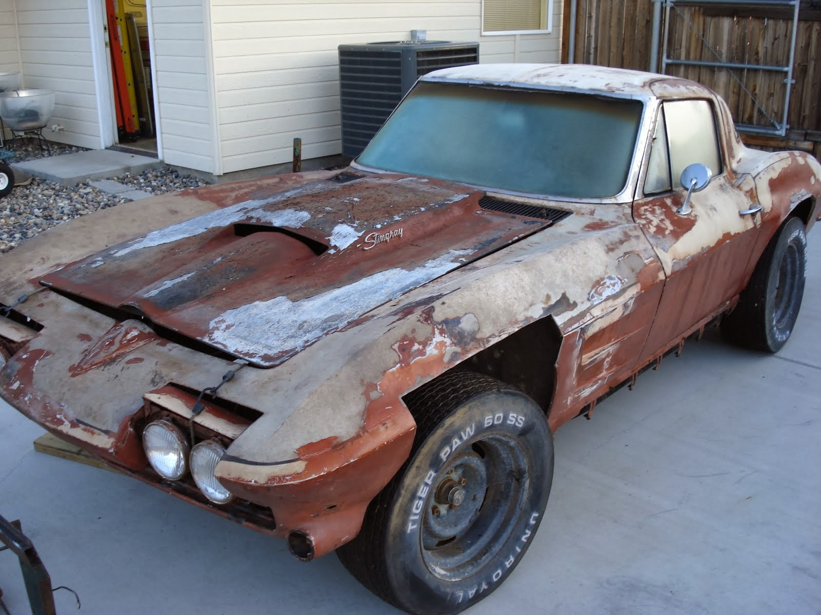 1963 Corvette Sting Ray Split Window Coupe Restoration