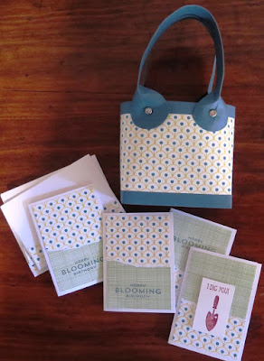 Gift bags for raffle prize Zena Kennedy independent stampin up demonstrator