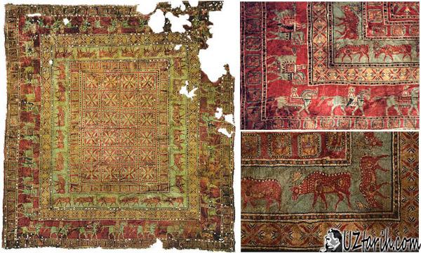 pazyryk halısı, en eski halı, Dünyanın en eski halısı