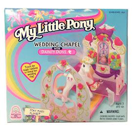 My Little Pony Dainty Dove Wedding Chapel G2 Pony