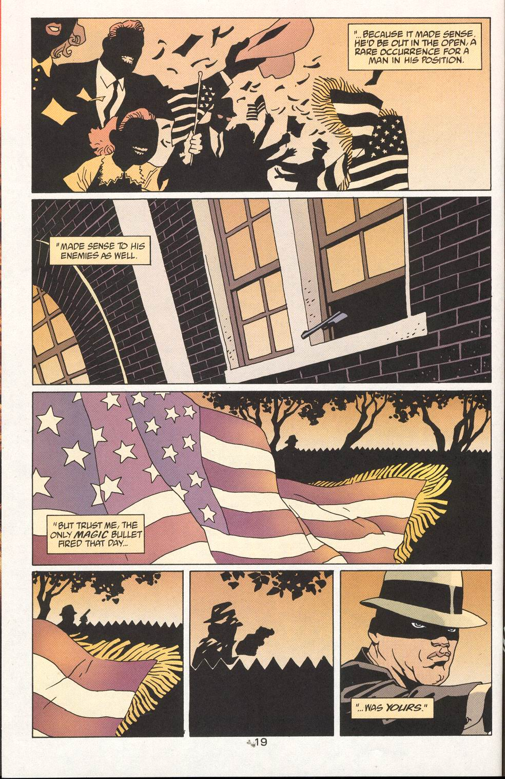 Read online 100 Bullets comic -  Issue #27 - 21