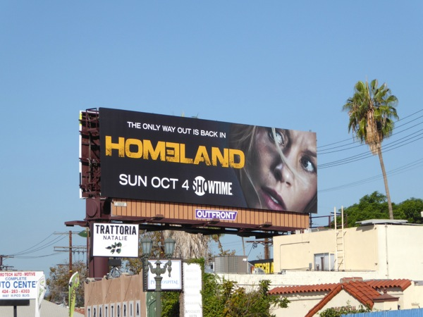 Homeland season 5 billboard