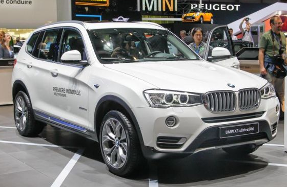 2015 BMW X3 Release Date