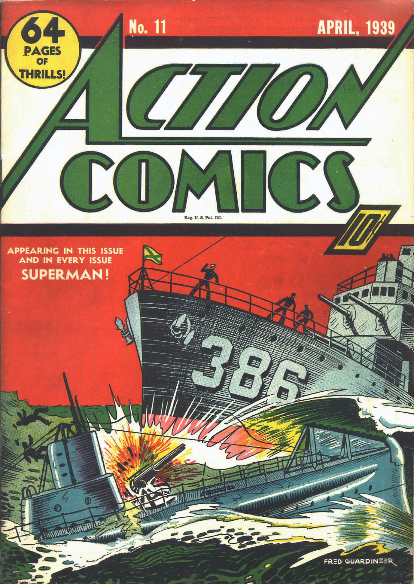 Action Comics (1938) 11 Page 1
