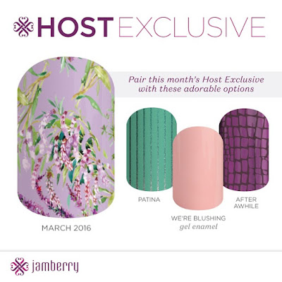 jamberry, jamberry nails, jamberry wraps, jamberry host exclusive, jamberry hostess exclusive, march 2016, lilac blossom, nail art, nail wraps, Jamberry patina, jamberry after awhile, jamberry we're blushing, #patinajn, #afterawhilejn, #wereblushingjn, gel enamel, nail polish, truegel, true gel