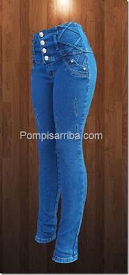 Pantalones Corte Colombiano Barato en Morelos de Mayoreo ...