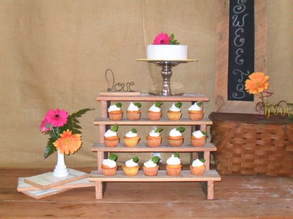 The Funky Shack Flower Market New Tiered Cupcake Stand