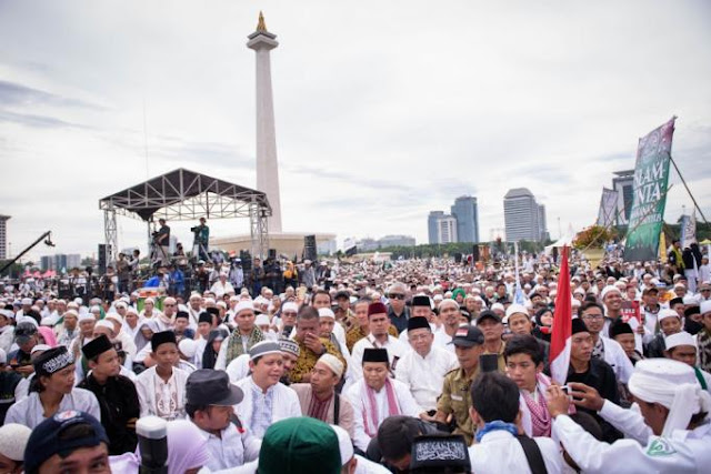 Reuni Akbar 212 dan Kodrat Geopolitik Indonesia