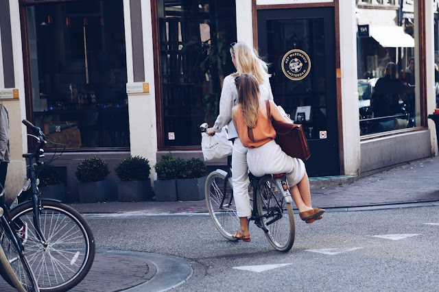 street style bikes Amsterdam