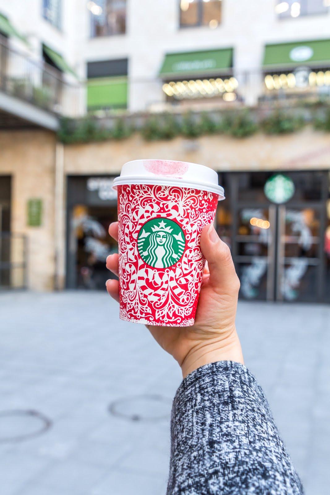 Starbucks gobelet hiver
