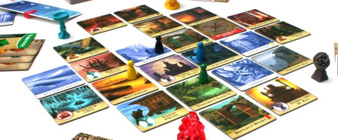 Jugando a cosicas (XV). Reseña de La Isla Prohibida. - 2D10 JUEGOS