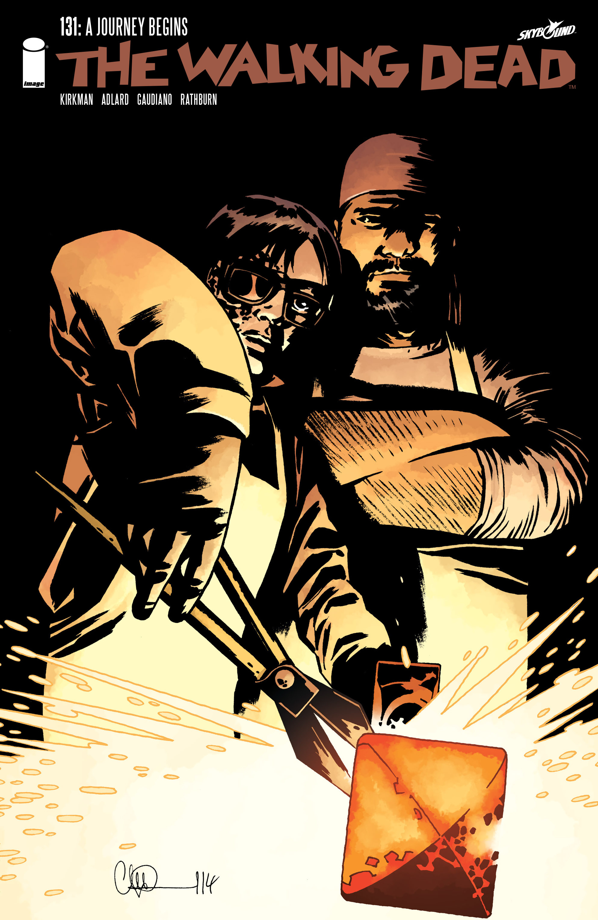 The Walking Dead 131 Page 1