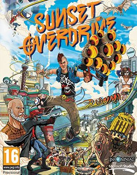 Sunset Overdrive Jogos Torrent Download capa