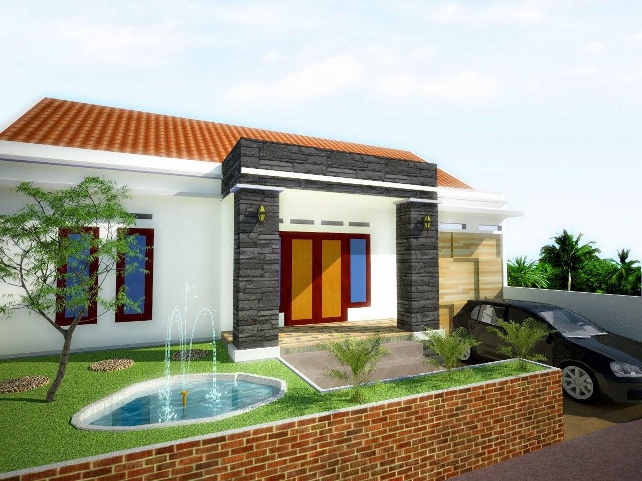 kumpulan desain rumah minimalis type 21 wall ppx