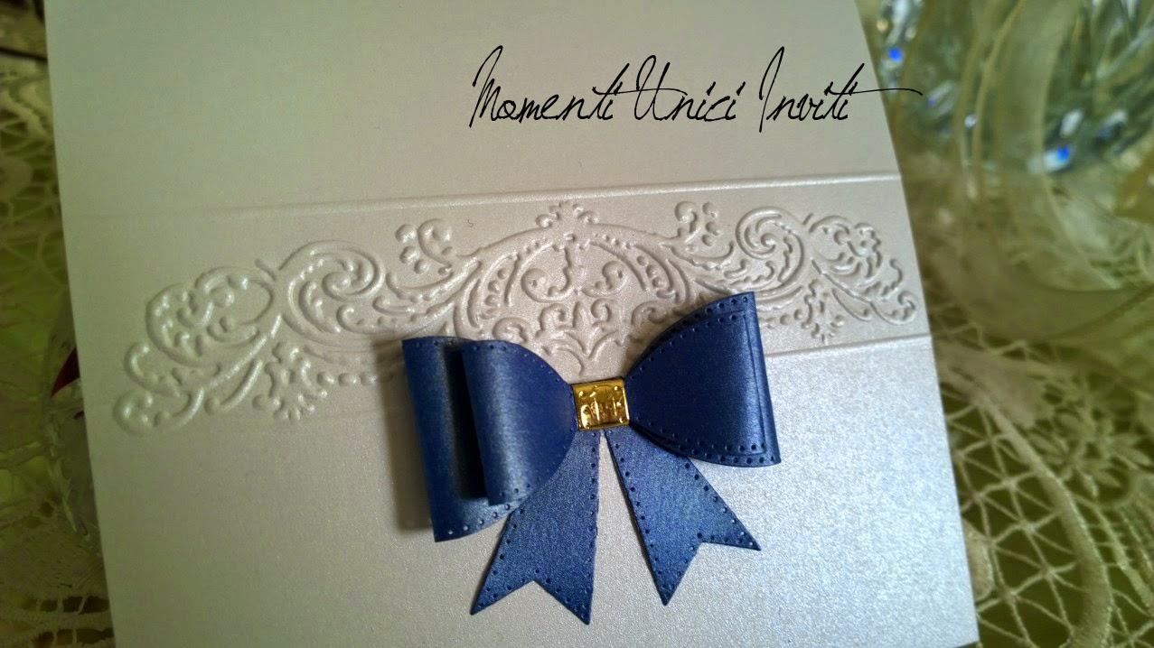 ww ... l'eleganza del blu con un pizzico di oro... per Linda e FabioColore Bianco Colore Blu Colore Oro