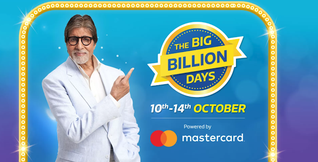 Big Billion Days By Flipkart From 10th -14th October