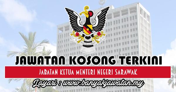 Jawatan Kosong 2018 di Jabatan Ketua Menteri Negeri Sarawak