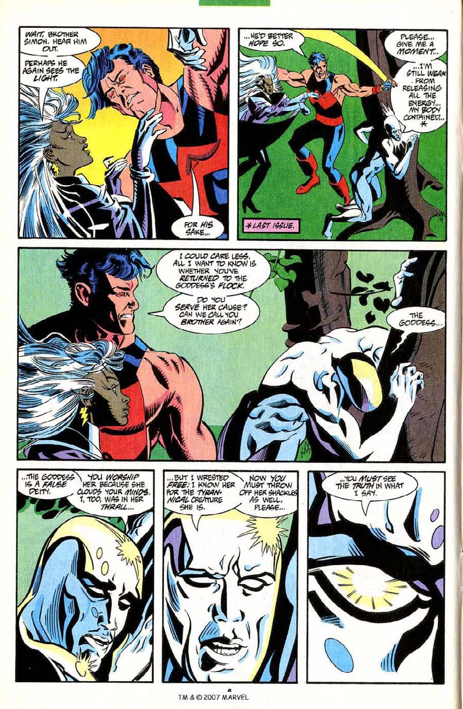 Read online Silver Surfer (1987) comic -  Issue #85 - 8