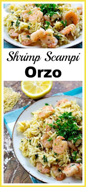 Shrimp Scampi Orzo