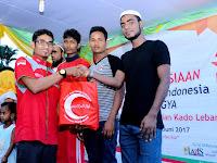 Jelang Idul Fitri, BSMI Sumut Berikan Kado Lebaran Untuk Imigran Rohingya di Medan
