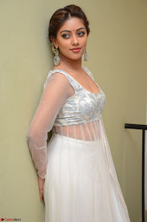 Anu Emmanuel in a Transparent White Choli Cream Ghagra Stunning Pics 068.JPG