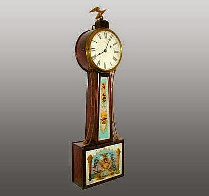 1938 banjo clock