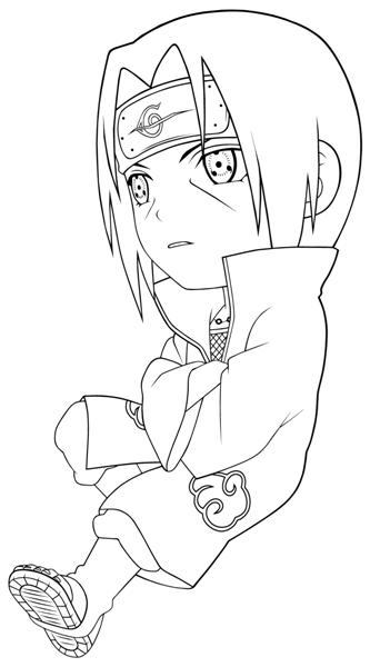 Naruto Coloring Pages | Fantasy Coloring Pages