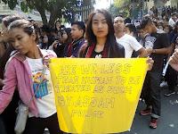 mizoram mzp protest in aizawl