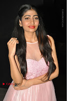 Actress Nidhisha Reddy Pos in Beautiful Pink Dress at Virus Telugu Movie Audio Launch .COM 0014.JPG