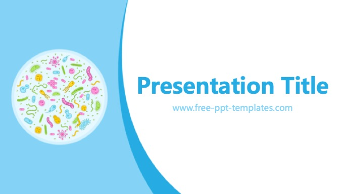 bacteria ppt template