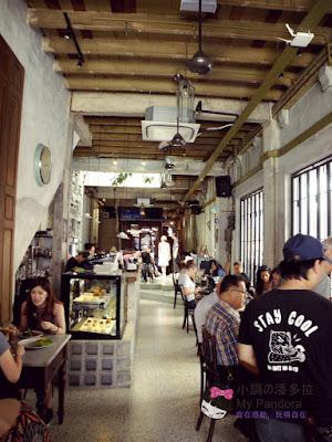 名樂,咖啡,茨場街,petaling street,cafe,leaf & co