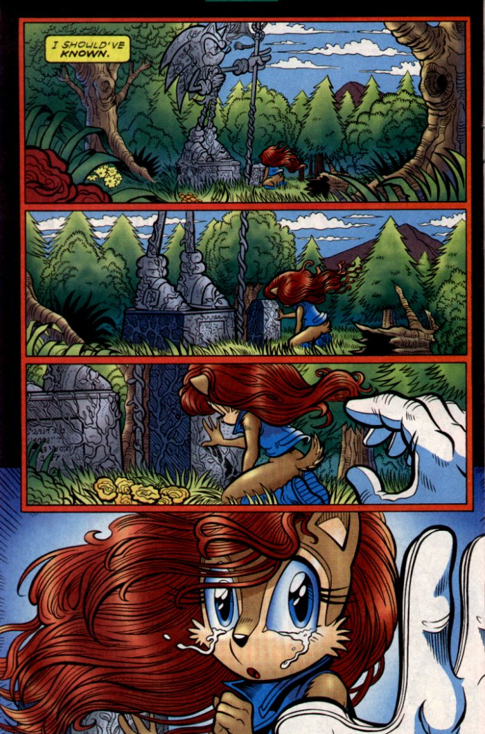Read online Sonic The Hedgehog comic -  Issue #130 - 18
