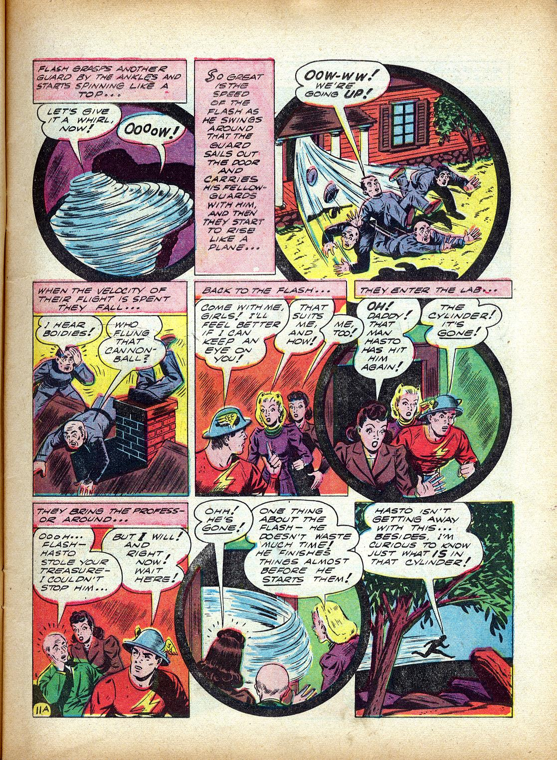 Read online All-Flash comic -  Issue #4 - 14