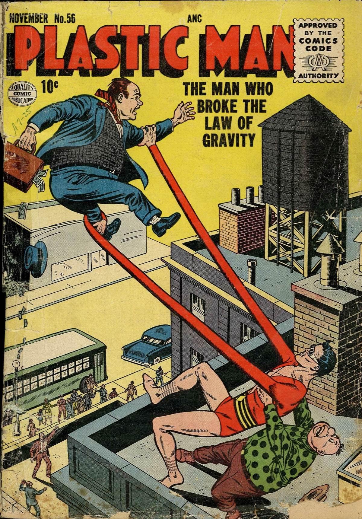 Plastic Man (1943) 56 Page 1