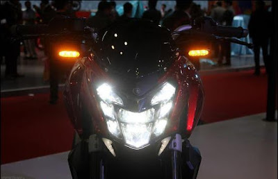 Bajaj Dominar 400 Headlight