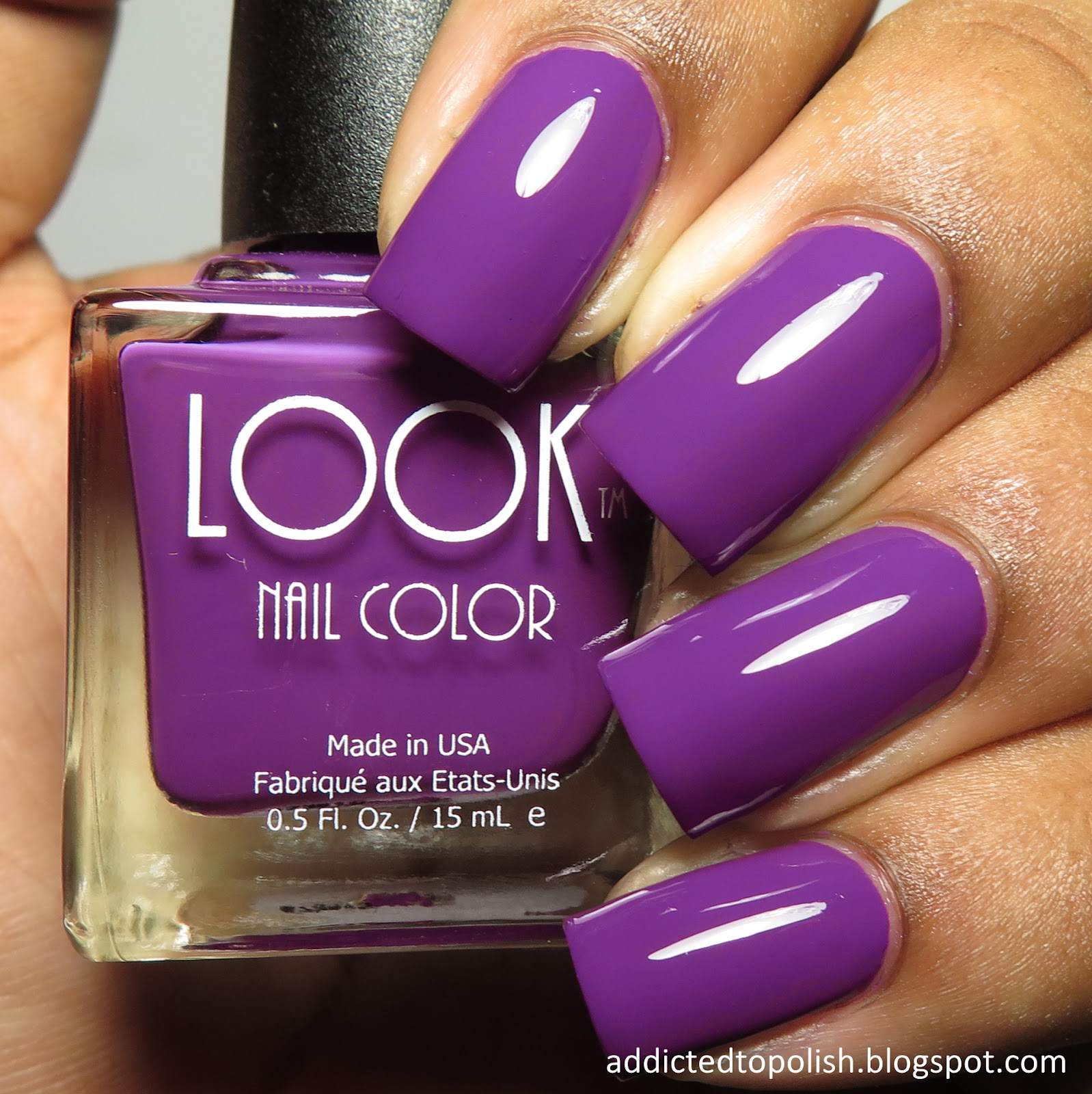 Addicted to Polish: LOOK Nail Color Fall 2015