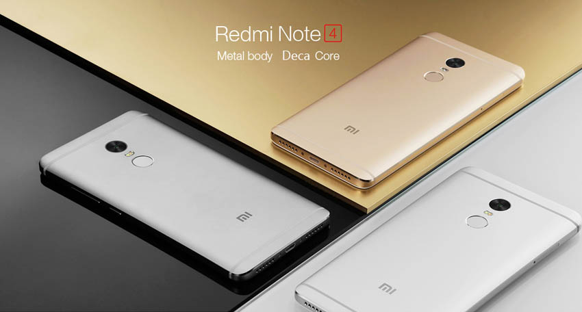 Xiaomi Redmi Note 4 Body and Color