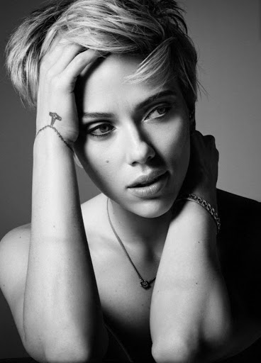 scarlett johansson model photo shoot cosmopolitan magazine