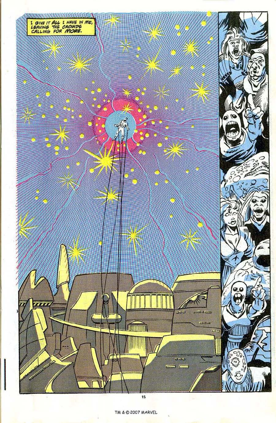 Read online Silver Surfer (1987) comic -  Issue #42 - 17