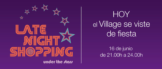Hoy Late Night Shopping, Las Rozas Village se viste de fiesta.