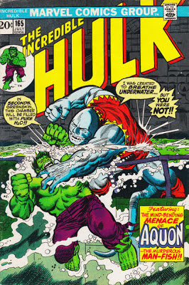 Incredible Hulk #165, Aquon