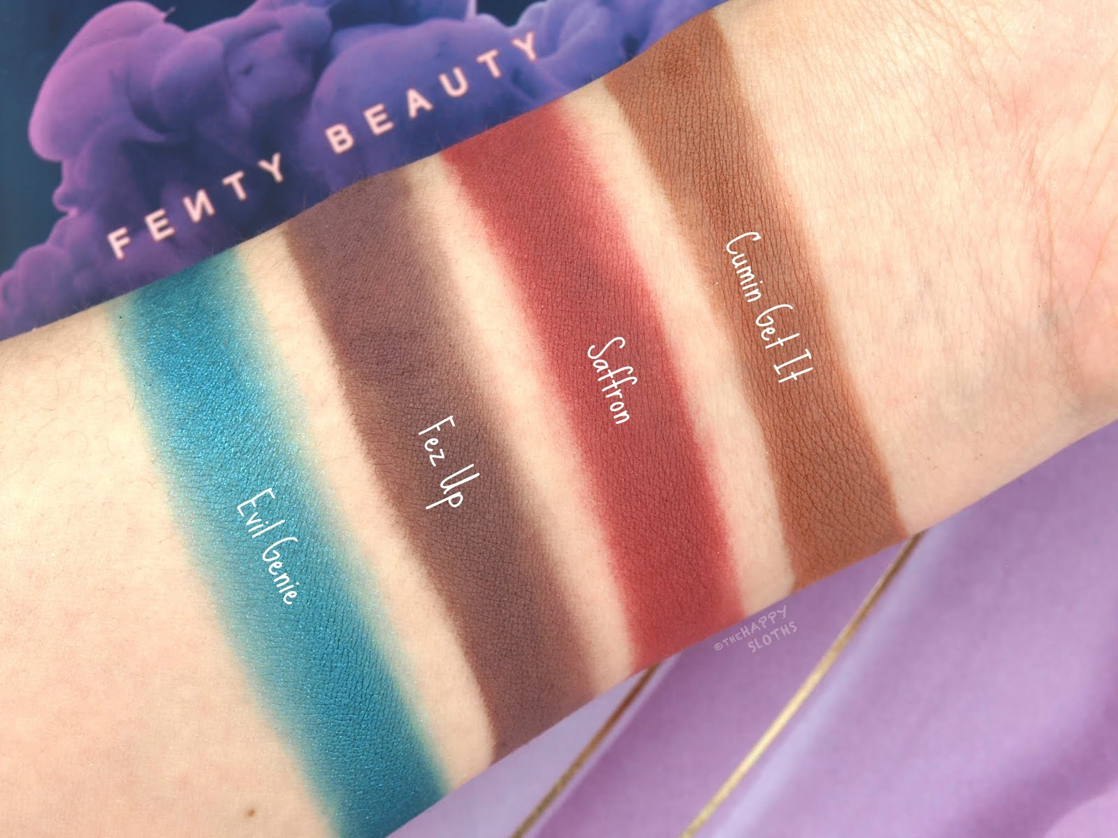 Fenty Beauty By Rihanna | Moroccan Spice Eyeshadow Palette: Review and Swatches