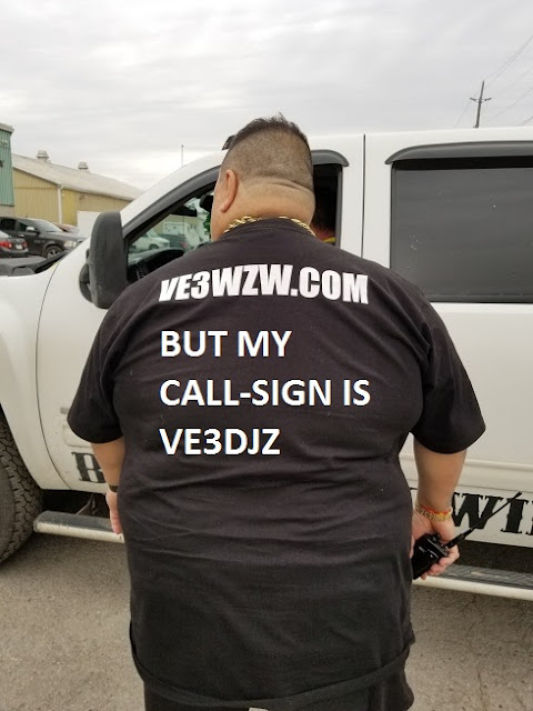 VE3DJZ but I have someone else call-sign domain