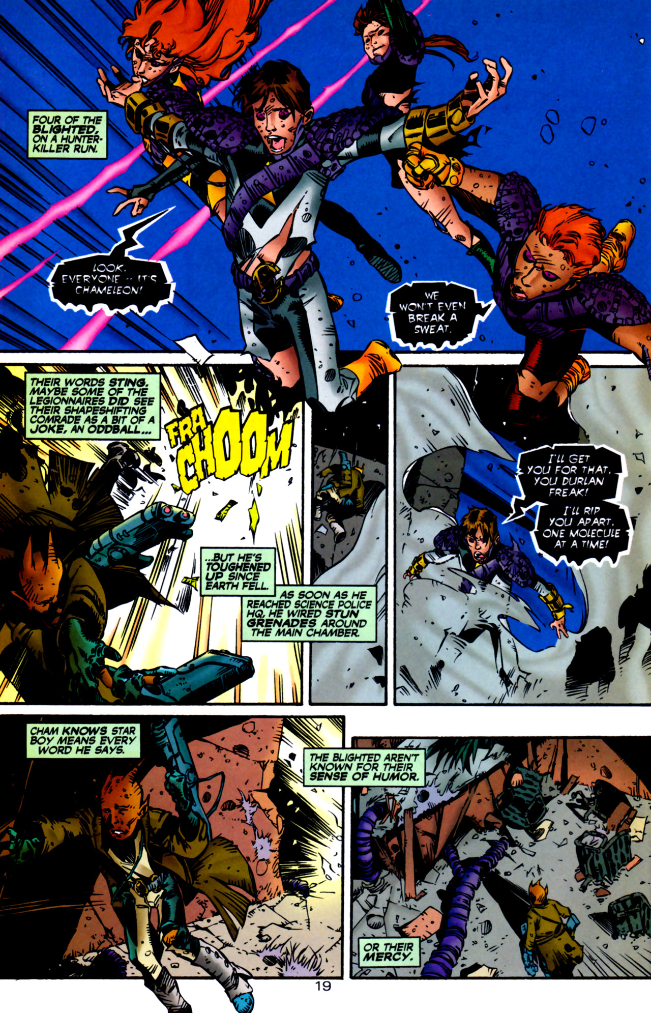 Legion of Super-Heroes (1989) 122 Page 18