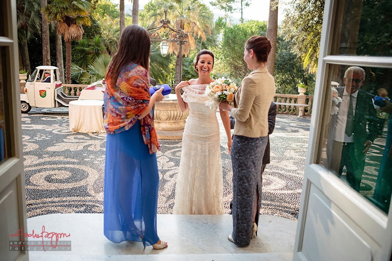 wedding in villa durazzo santa margherita