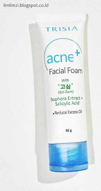 Trisia Cosmetic Acne Facial Foam  With Sophora Extract+Salicylic Acid