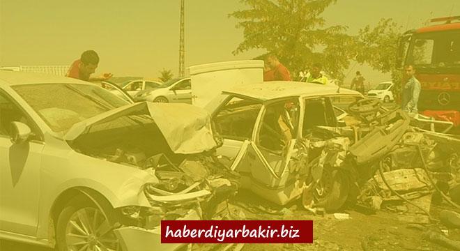 Li Diyarbekirê qezaya trafîkê: 3 mirî