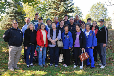 Pokagon Band of Potawatomi Elders Visit to Ohio, 2014. Image Courtesty of Tim Black and the Newark Earthworks Center, The Ohio State University.