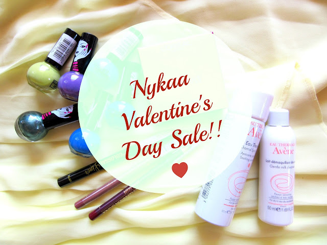 Things I got from Nykaa Valentine's Day Sale
