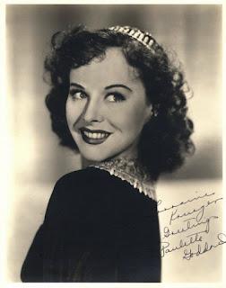 Paulette Goddard Autographed Photo